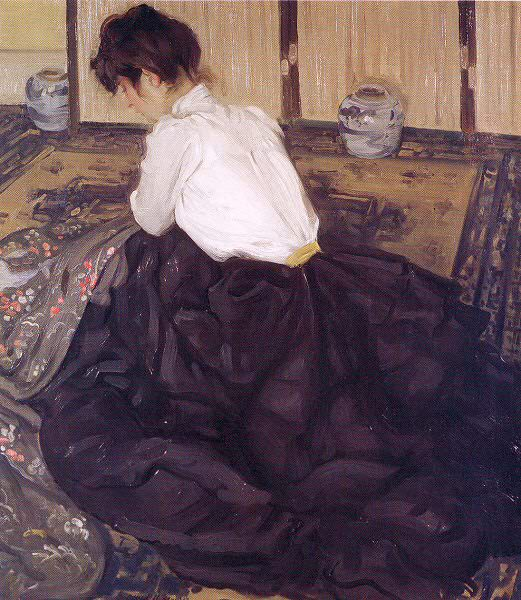 Maurer, Alfred Henry (American, 1868-1932). American artists