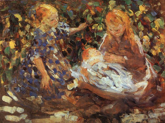 Рафаэль, Джозеф (1869-1950). Американские художники