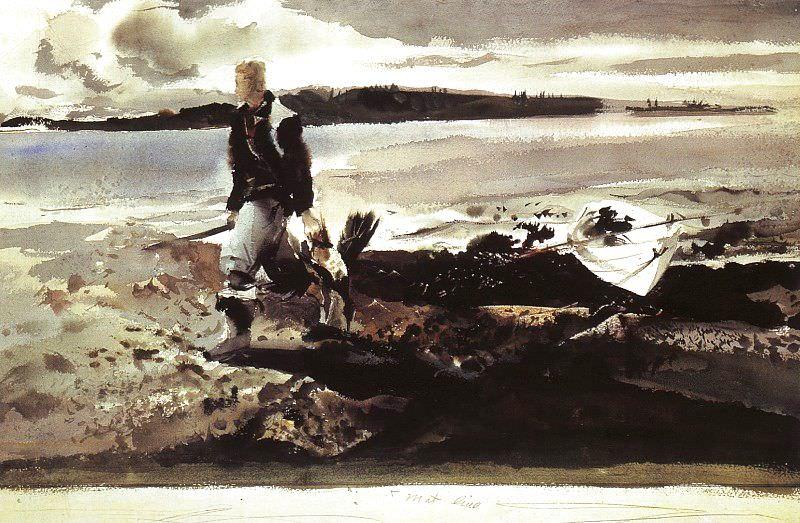 Wyeth, Andrew Newell (American, born 1917) 3. American artists