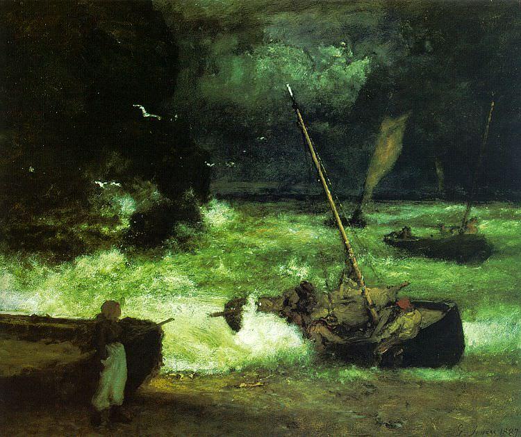 Иннесс, Джордж (американец, 1825-1894). Американские художники