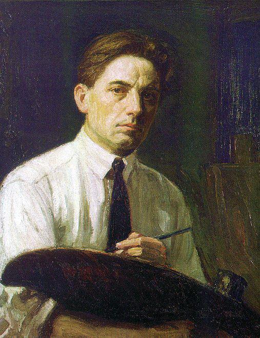 Kleitsch, Joseph A. (American, 1885-1931) 1. American artists
