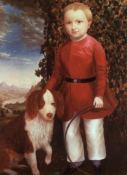 Stock, Joseph Whiting (American, 1815-1855). American artists