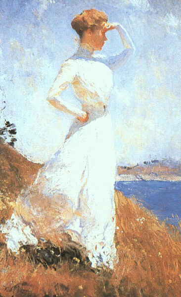 Benson, Frank (American, 1862-1951). American artists