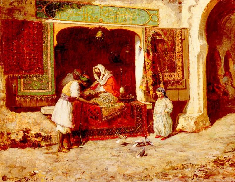 Millar Addison Thomas The Rug Merchant. American artists
