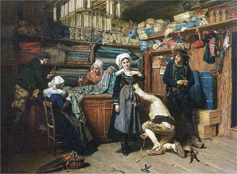 Мослер, Генри (1841-1920) #2. Американские художники