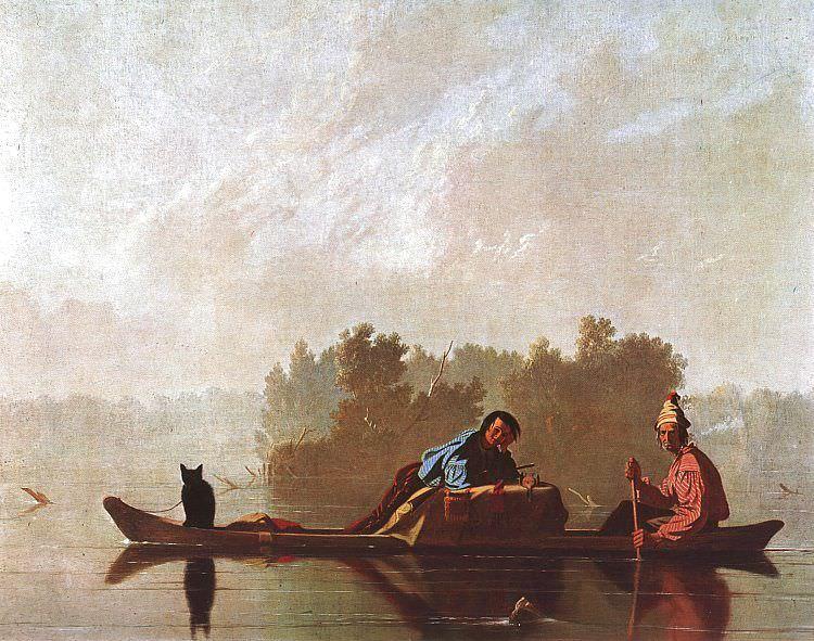 Bingham, George Caleb (American, 1811-1879). American artists