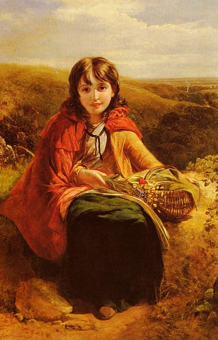 Francis John Deffett Red Riding Hood. American artists