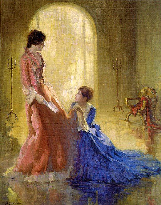 Хаббелл, Генри Салем (1870-1949) #4. Американские художники
