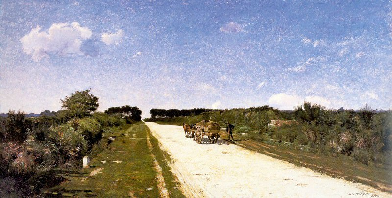 Picknell, William Lamb (American, 1853-1897) 1. American artists