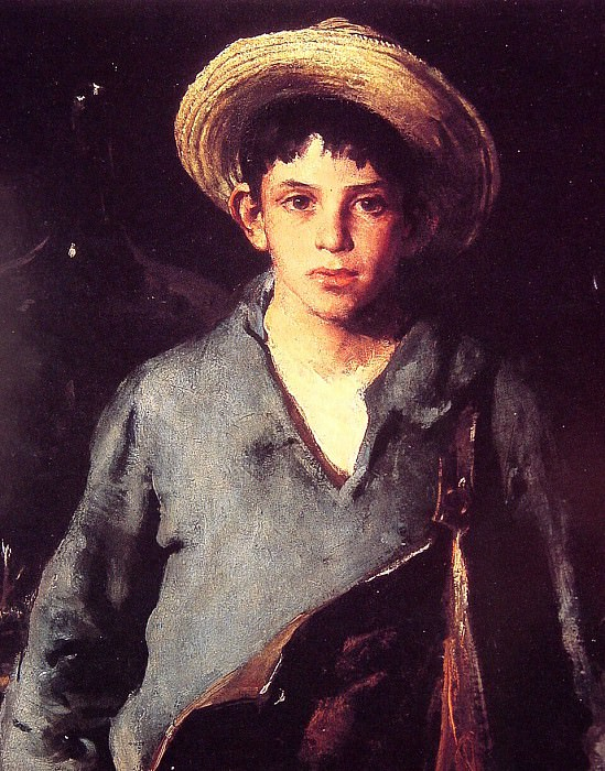 Portugese Fisherboy. American artists