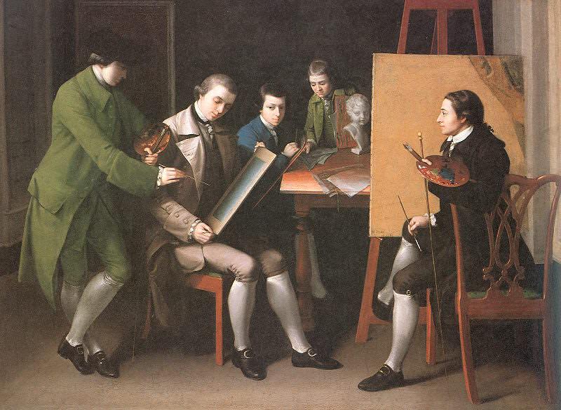 Прэтт, Мэтью (1734-1805). Американские художники