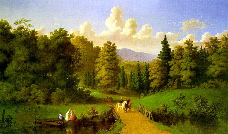 Culverhouse, Johann M. (American, 1825-1895). American artists