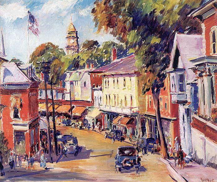 Kuehne, Max (American, 1880-1968) 3. American artists