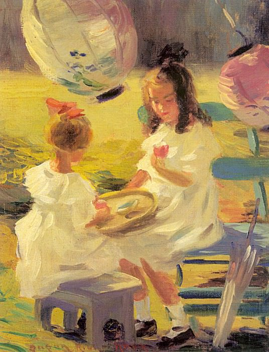 Knox, Susan Ricker (American, 1874-1959) 1. American artists