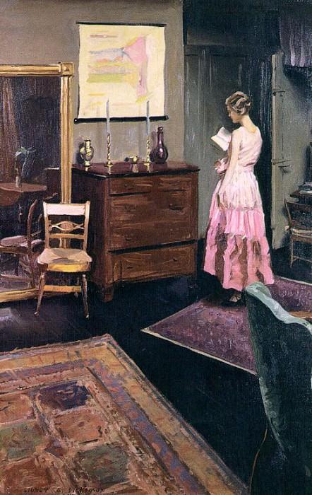 Dickinson, Sidney E. (American, 1890-1980). American artists
