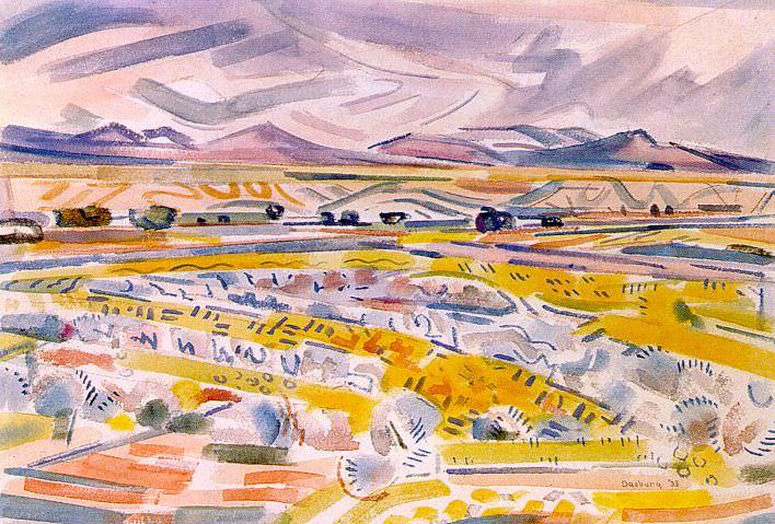 Dasburg, Andrew (American, 1887-1979) 1. American artists