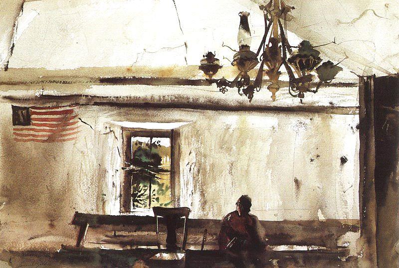 Wyeth, Andrew Newell (American, born 1917) 4. American artists