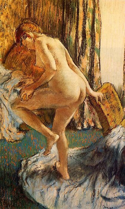 After the Bath 2. Edgar Degas