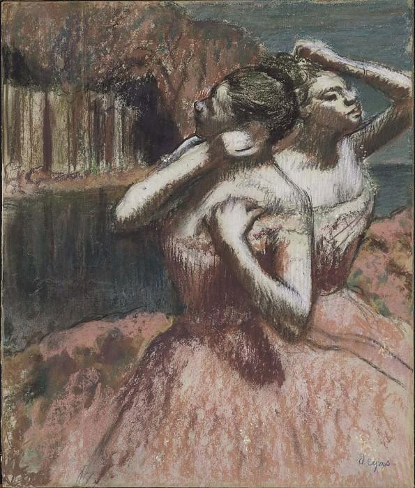Two Dancers. Edgar Degas