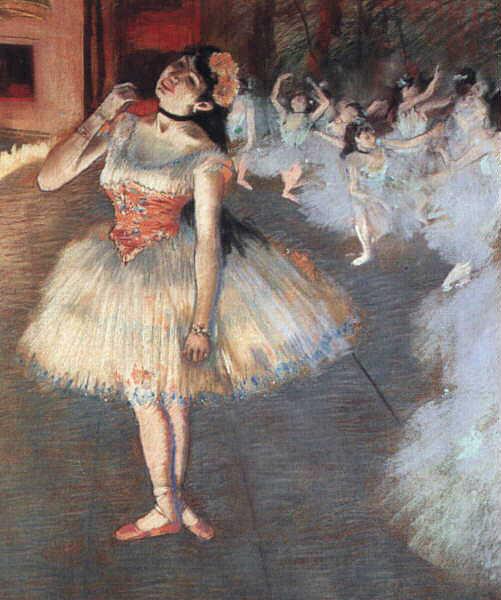 The Star. Edgar Degas