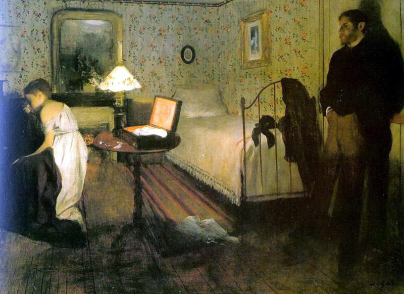 The Rape CGF. Edgar Degas