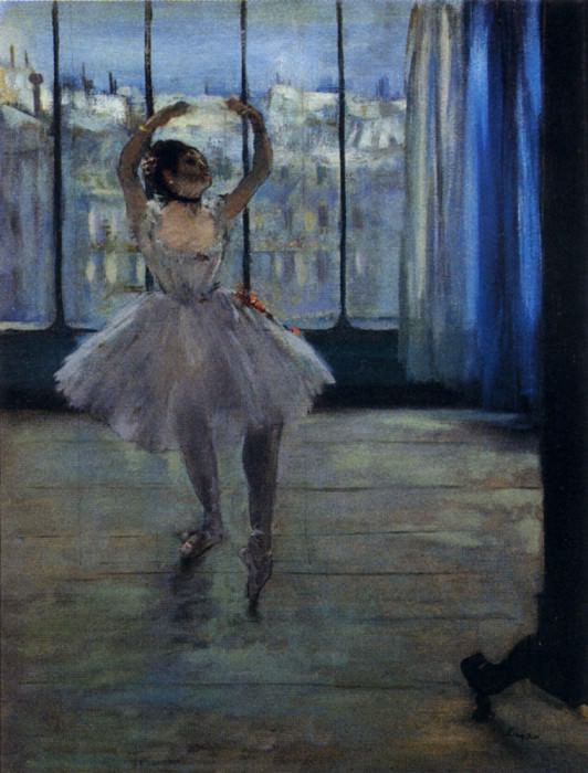 Dancer At The Photographers. Edgar Degas