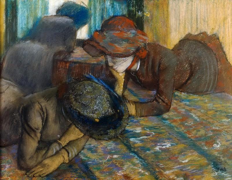 Conversation. Edgar Degas
