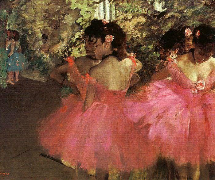 Танцовщицы в розовом. Эдгар Дега