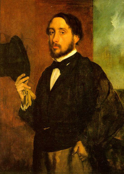 Self Portrait. Edgar Degas