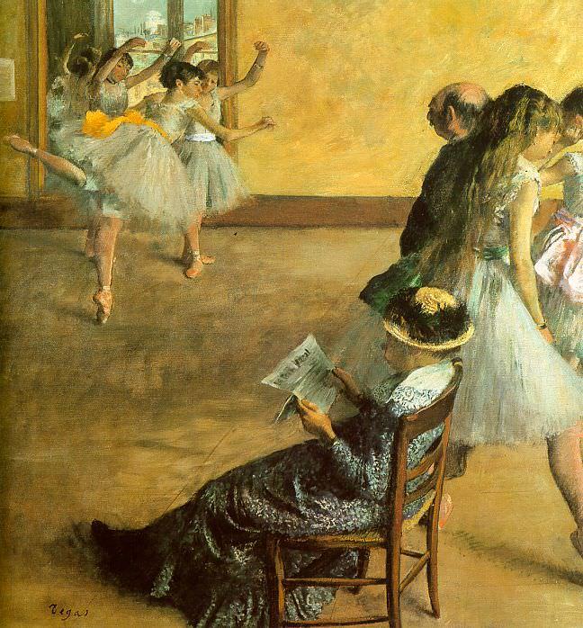 Ballet Class. Edgar Degas
