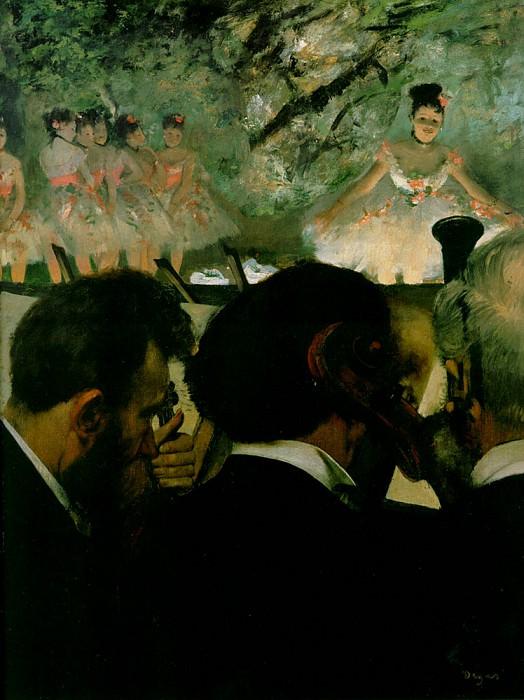 orchestra2. Edgar Degas