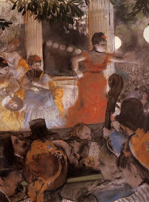 Aux Ambassadeus. Edgar Degas