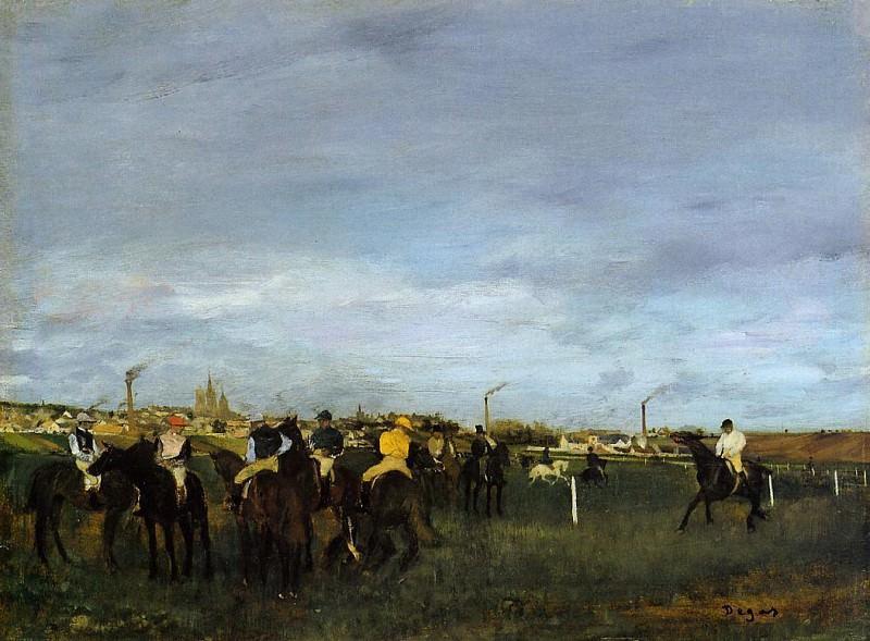 Before the Race 2. Edgar Degas