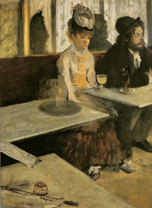 Degas Edgar Absinthe. Edgar Degas