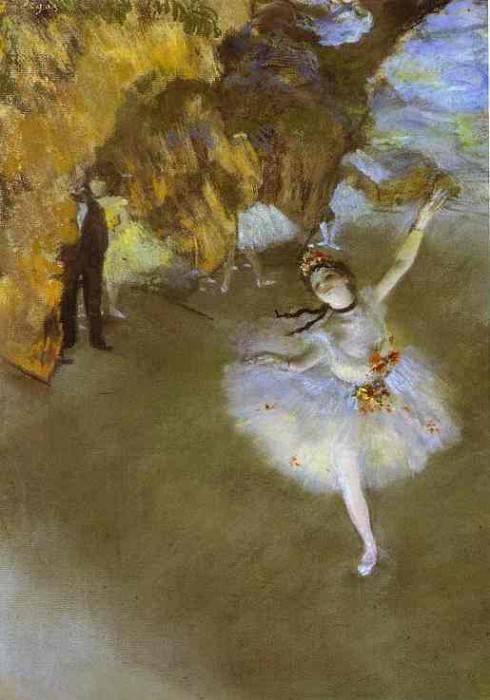Prima. Edgar Degas