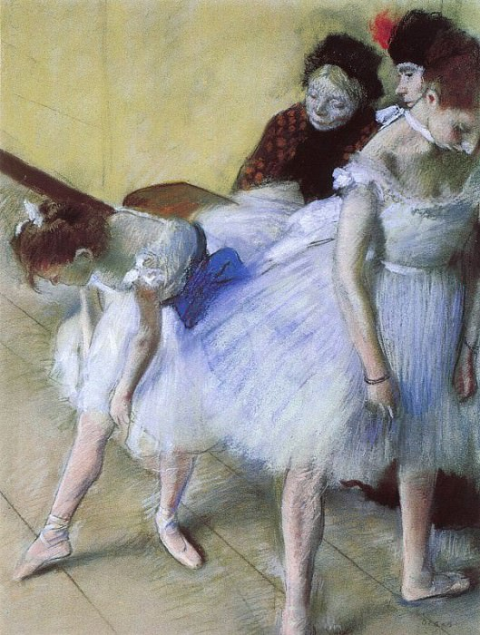The Dance Examination. Edgar Degas