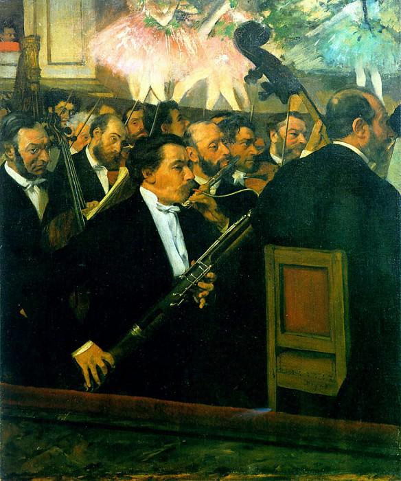orchestra1. Edgar Degas