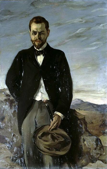 Zuloaga, Ignacio. Portrait of Ivan Ivanovich Shchukin. Hermitage ~ part 11