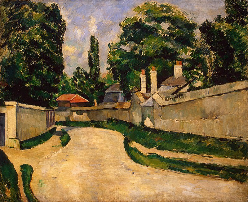 Cezanne, Paul. Houses along the road. Hermitage ~ part 11