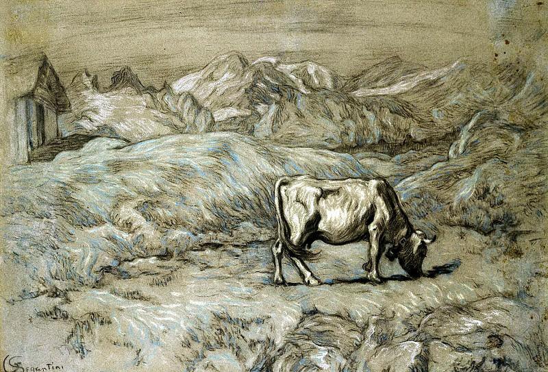 Segantini, Giovanni. Alpine pastures. Hermitage ~ part 11