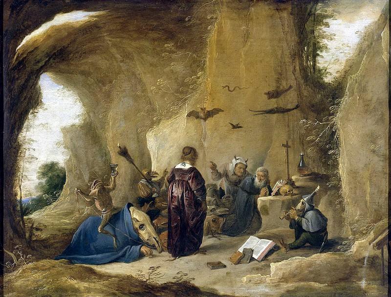 Тенирс, Давид Младший - Искушение Св. Антония. Эрмитаж ~ часть 11