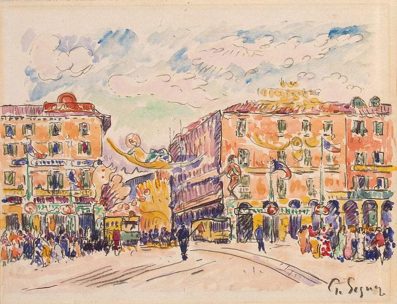 Signac, Paul. Town Square. Hermitage ~ part 11