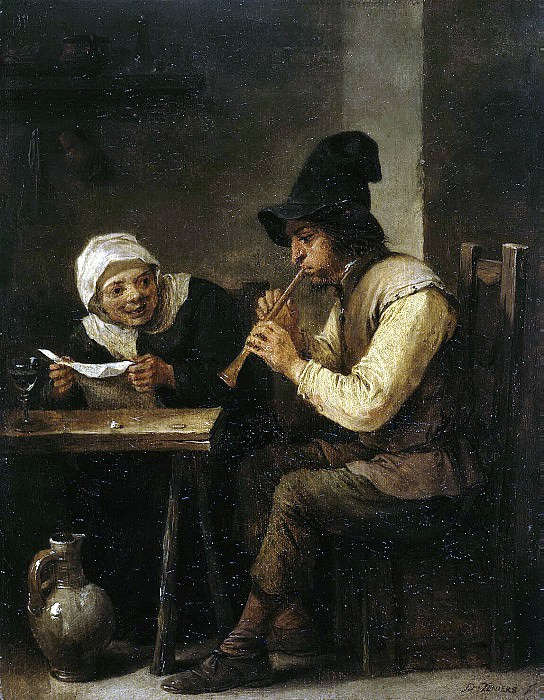Teniers, David the Younger. Duo. Hermitage ~ part 11