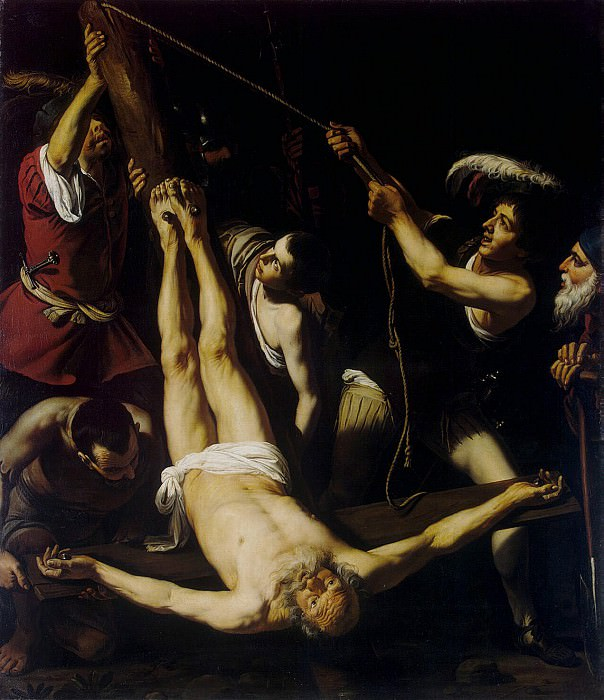 Spada, Lionello. Torment of the Apostle Peter. Hermitage ~ part 11