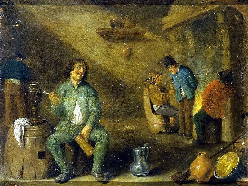 Teniers, David the Younger. Smoker (2). Hermitage ~ part 11