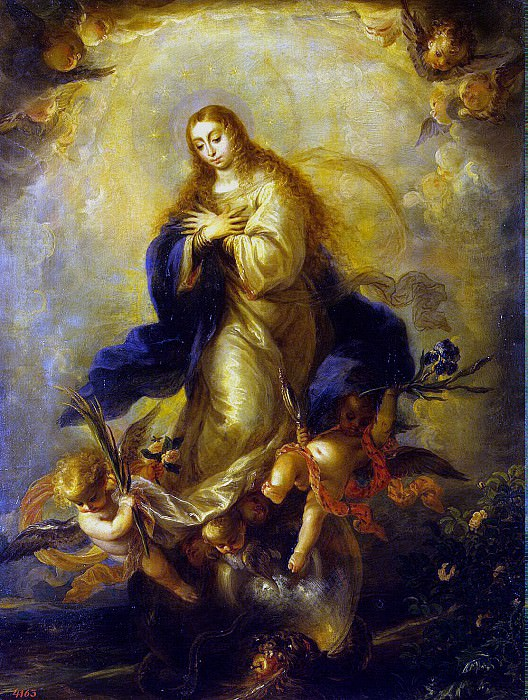 Cerezo, Mateo. Immaculate conception. Hermitage ~ part 11