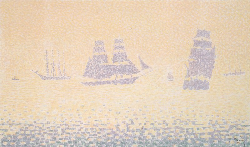 Signac, Paul. Vessels. Hermitage ~ part 11