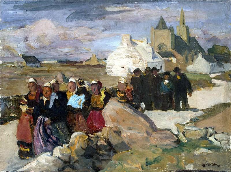 Simon, Lucien. Breton and Breton. Hermitage ~ part 11