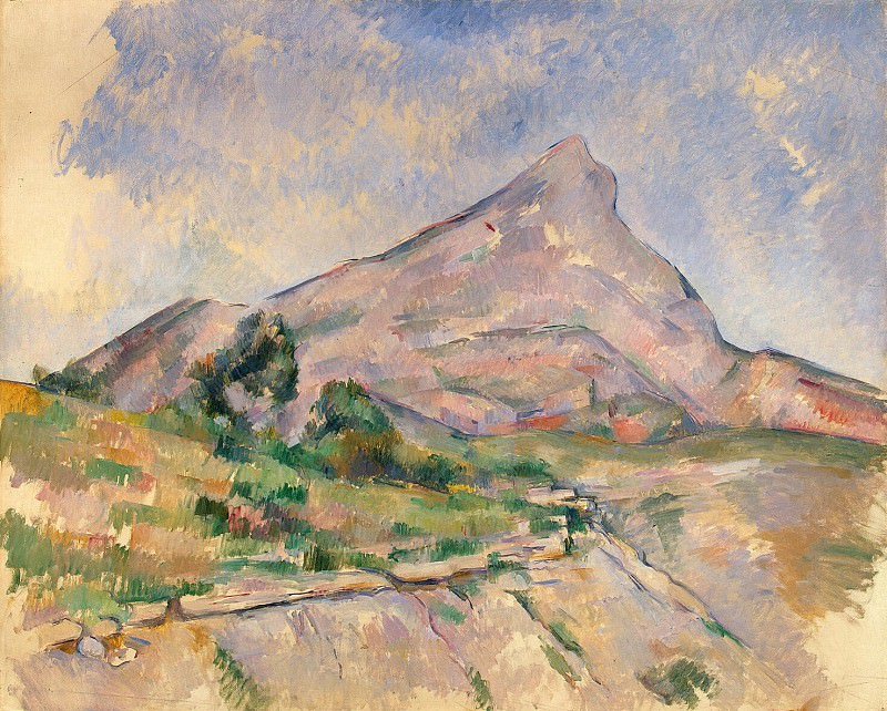 Cezanne, Paul. Mount St. Victoria. Hermitage ~ part 11