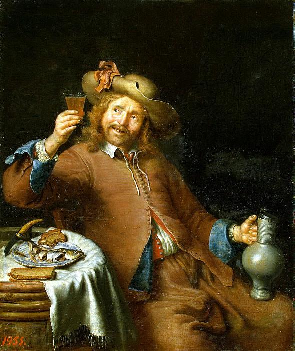 Slingeland, Pieter Cornelis van. Breakfast is a young man. Hermitage ~ part 11